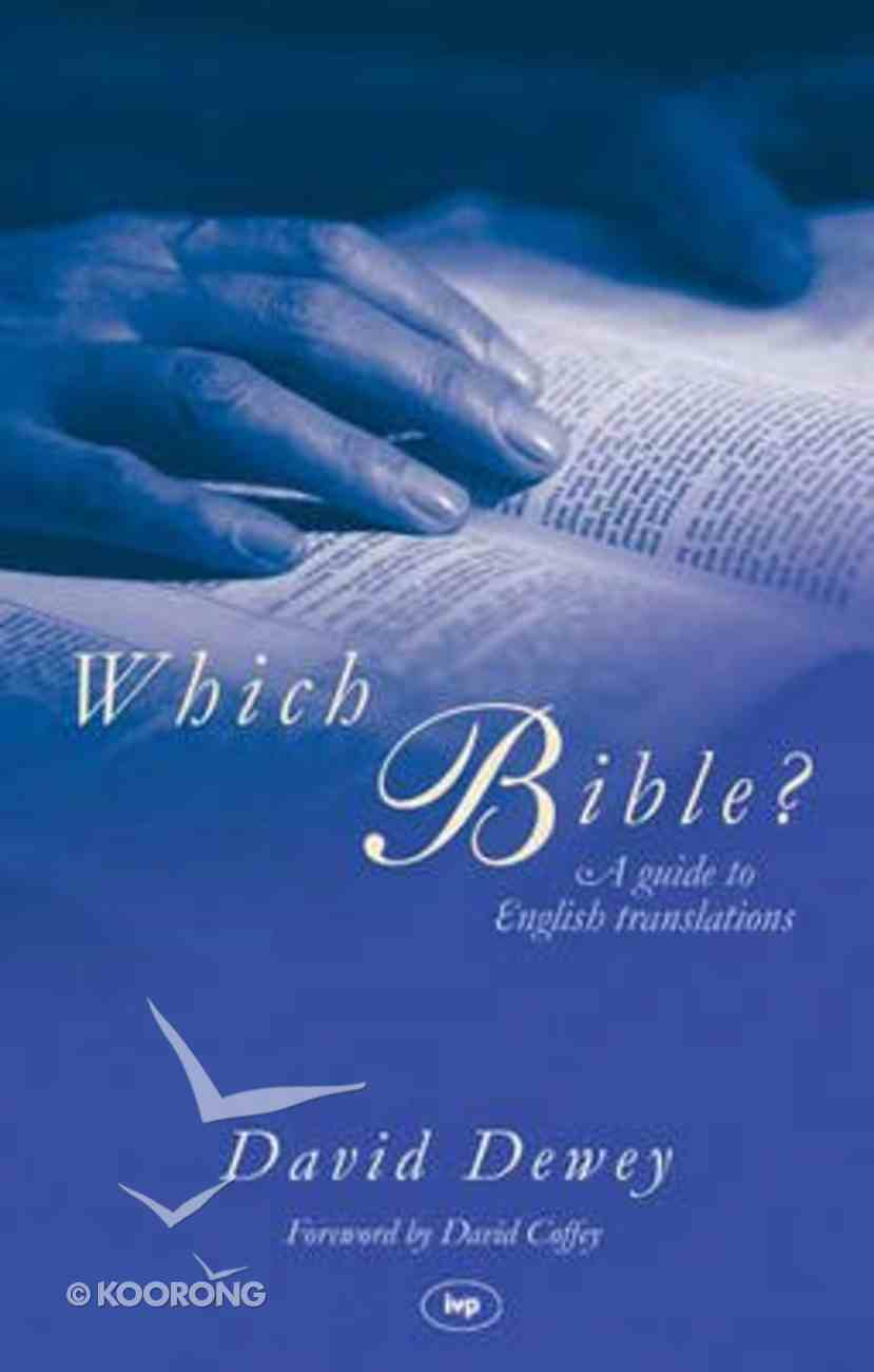 Which Bible? Paperback