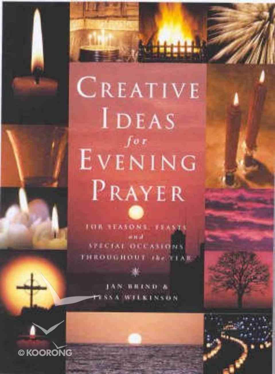 Creative Ideas For Evening Prayer Paperback