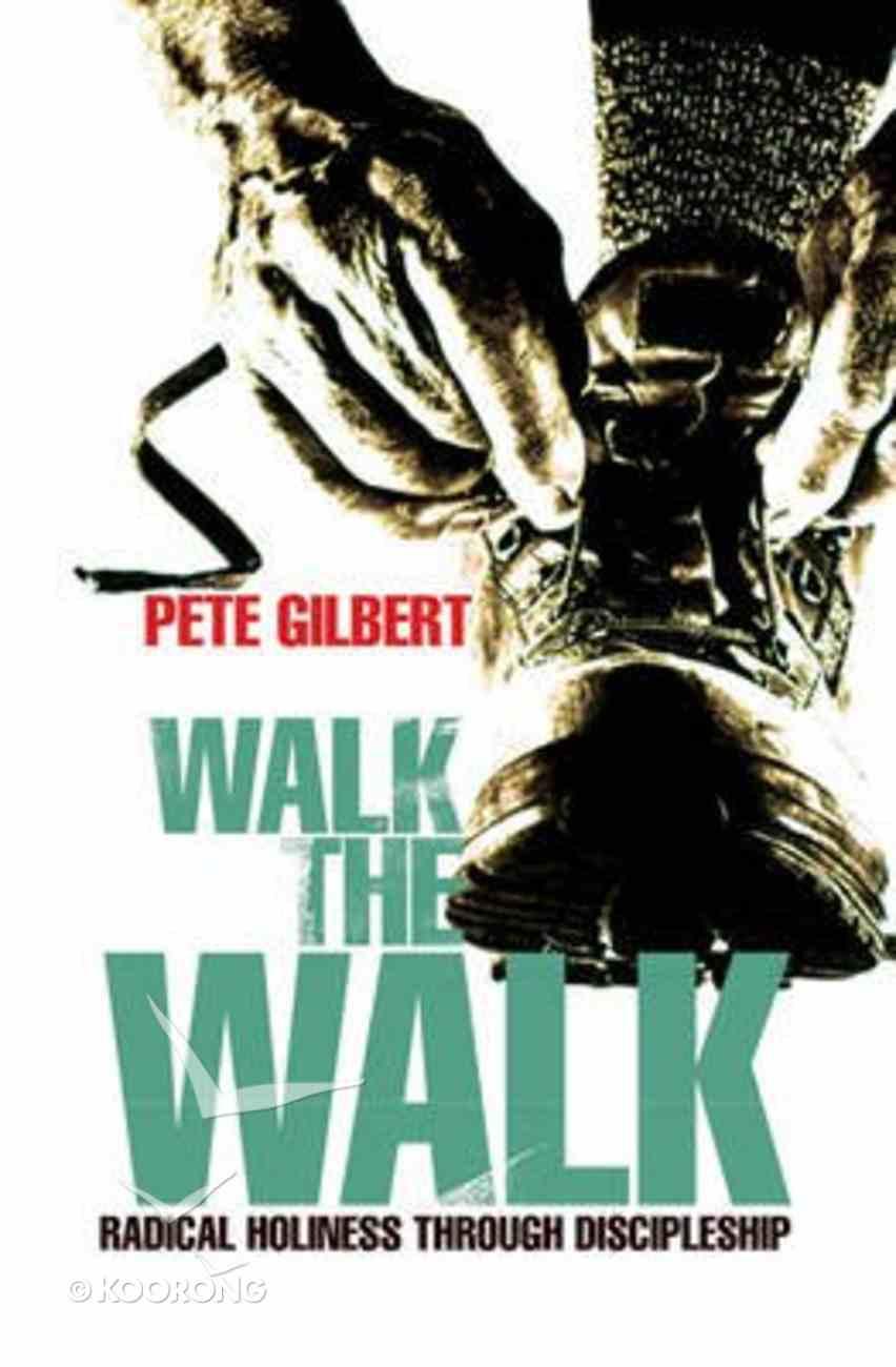 Walk the Walk Paperback
