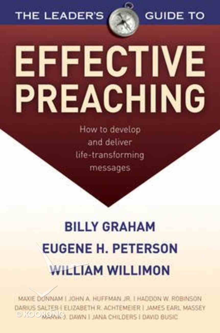 The Leader's Guide to Effective Preaching Paperback