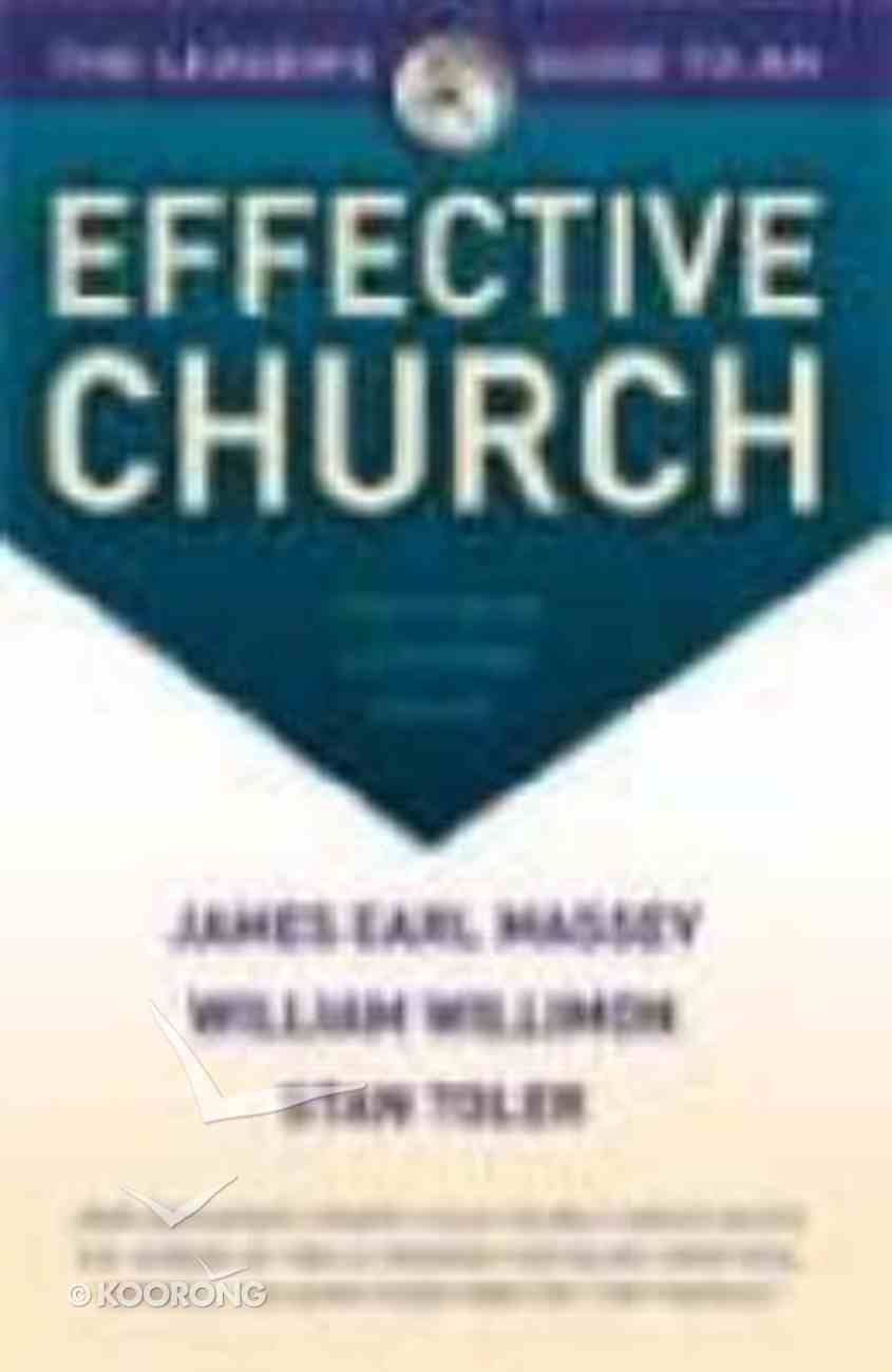 Leader's Guide to An Effective Church Paperback
