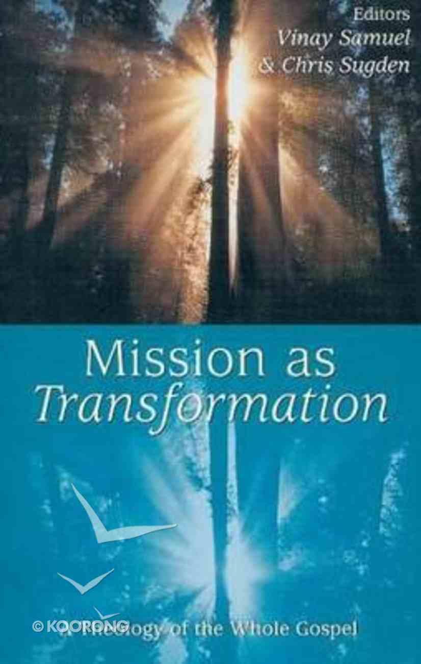 Mission as Transformation Hardback