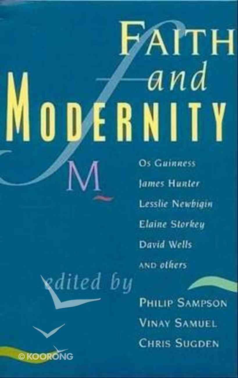 Faith and Modernity Paperback