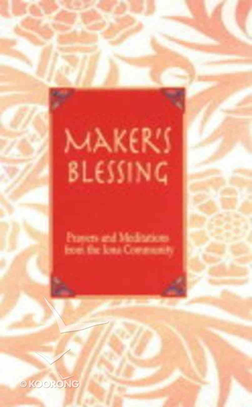 Maker's Blessing Hardback