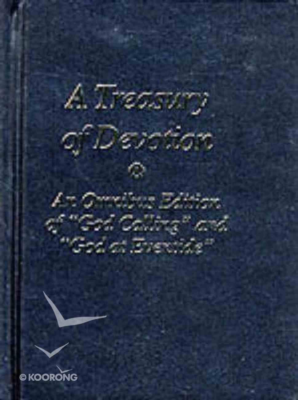 A Treasury of Devotion (Black) Hardback