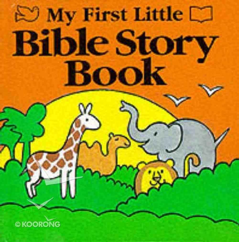 My First Little Bible Story Book Hardback