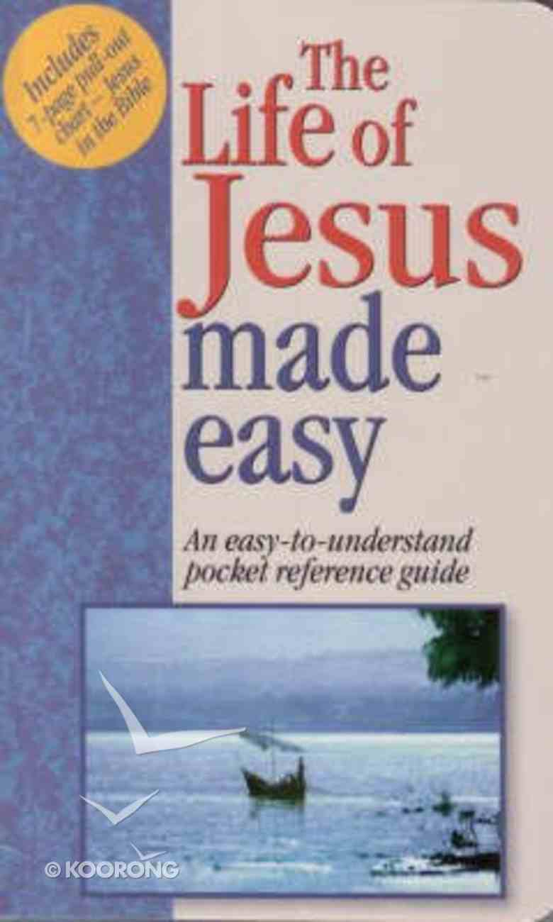 The Life of Jesus Made Easy (Bible Made Easy Series) Paperback