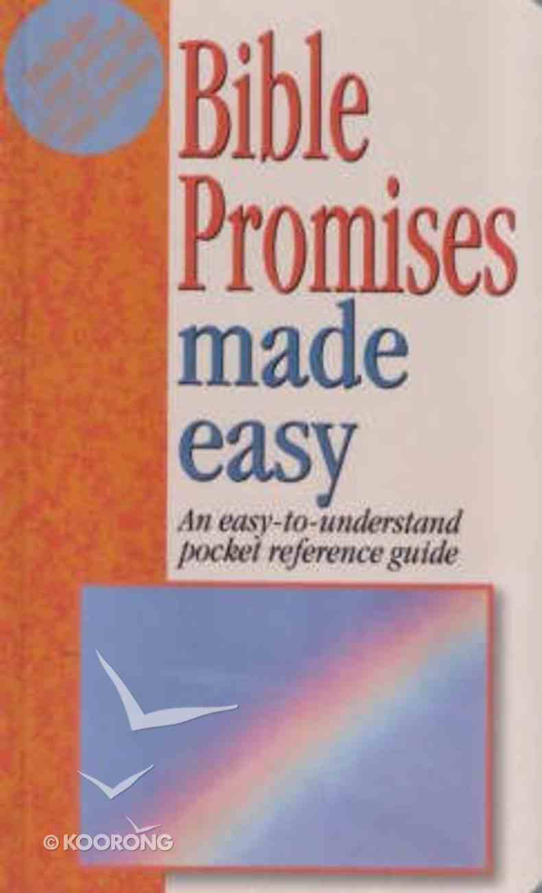 Bible Promises Made Easy (Bible Made Easy Series) Paperback