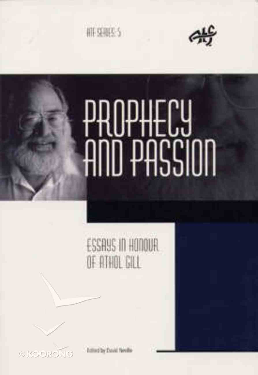 Prophecy and Passion Paperback