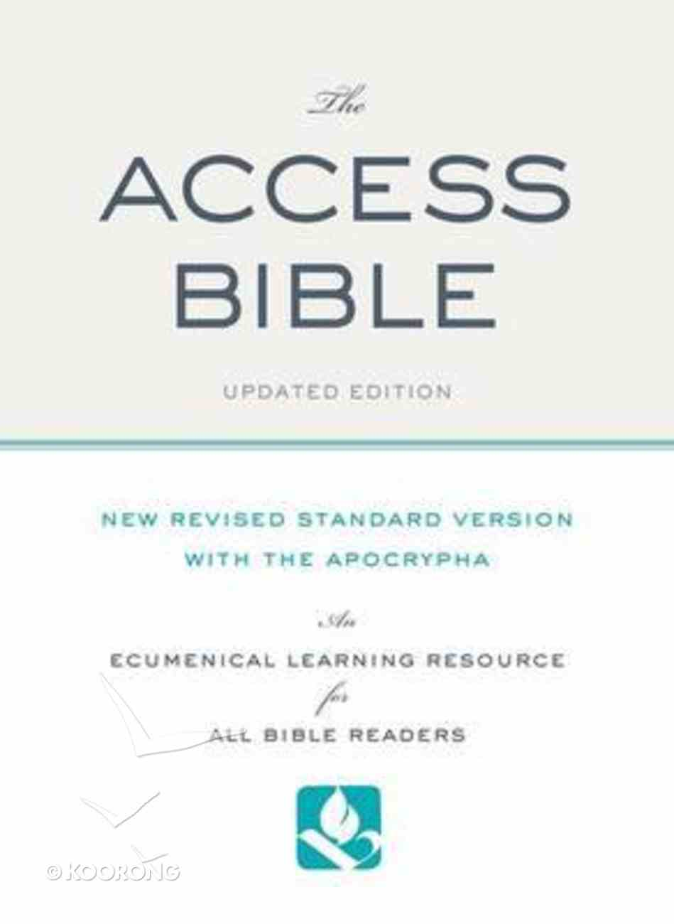 The NRSV Access Bible Paperback