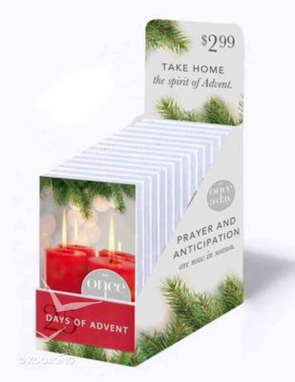 Once-A-Day 25 Day of Advent Devotional (20 Pack) Paperback