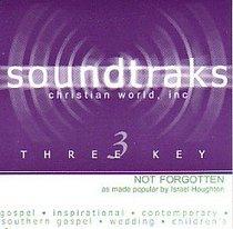 Album Image for Not Forgotten (Accompaniment) - DISC 1