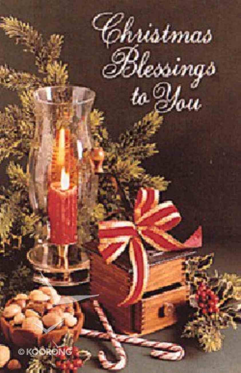 Christmas Blessings (25 Pack) Booklet