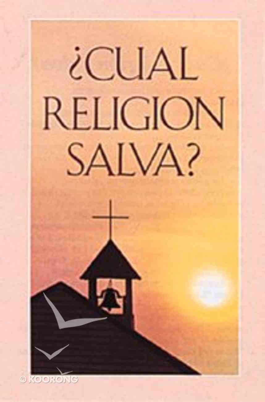 Which Church Saves? (25 Pack) (Spanish) Booklet