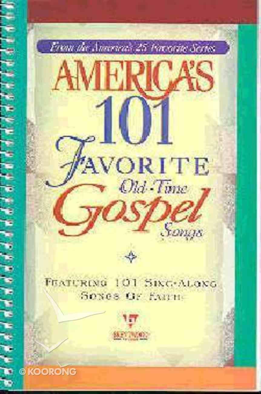 America's 101 Favourite Gospel Songs (Music Book) Paperback