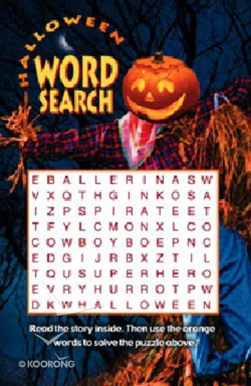 Halloween Word Search (25 Pack) Booklet