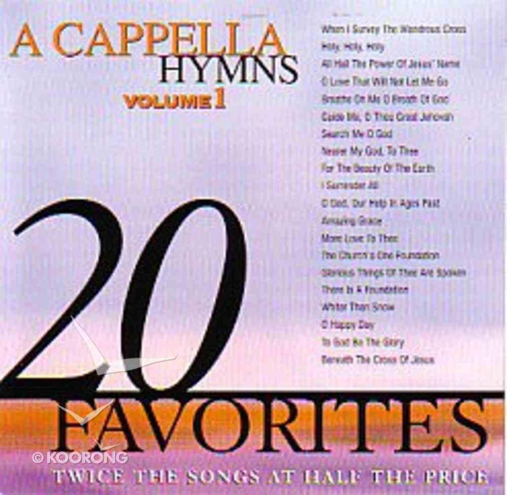 20 Acappella Hymns (Vol 1) CD