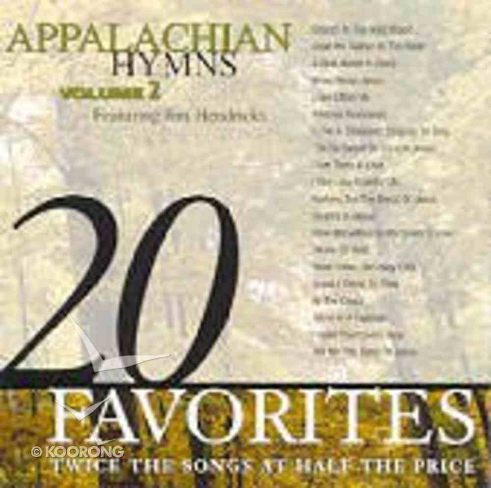 20 Appalachian Hymns (Vol 2) CD