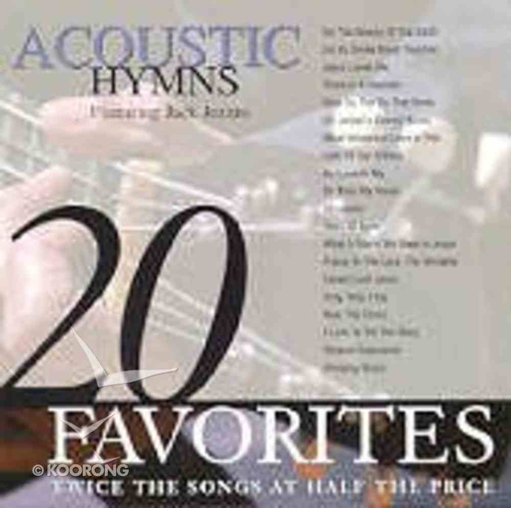 20 Acoustic Hymns CD