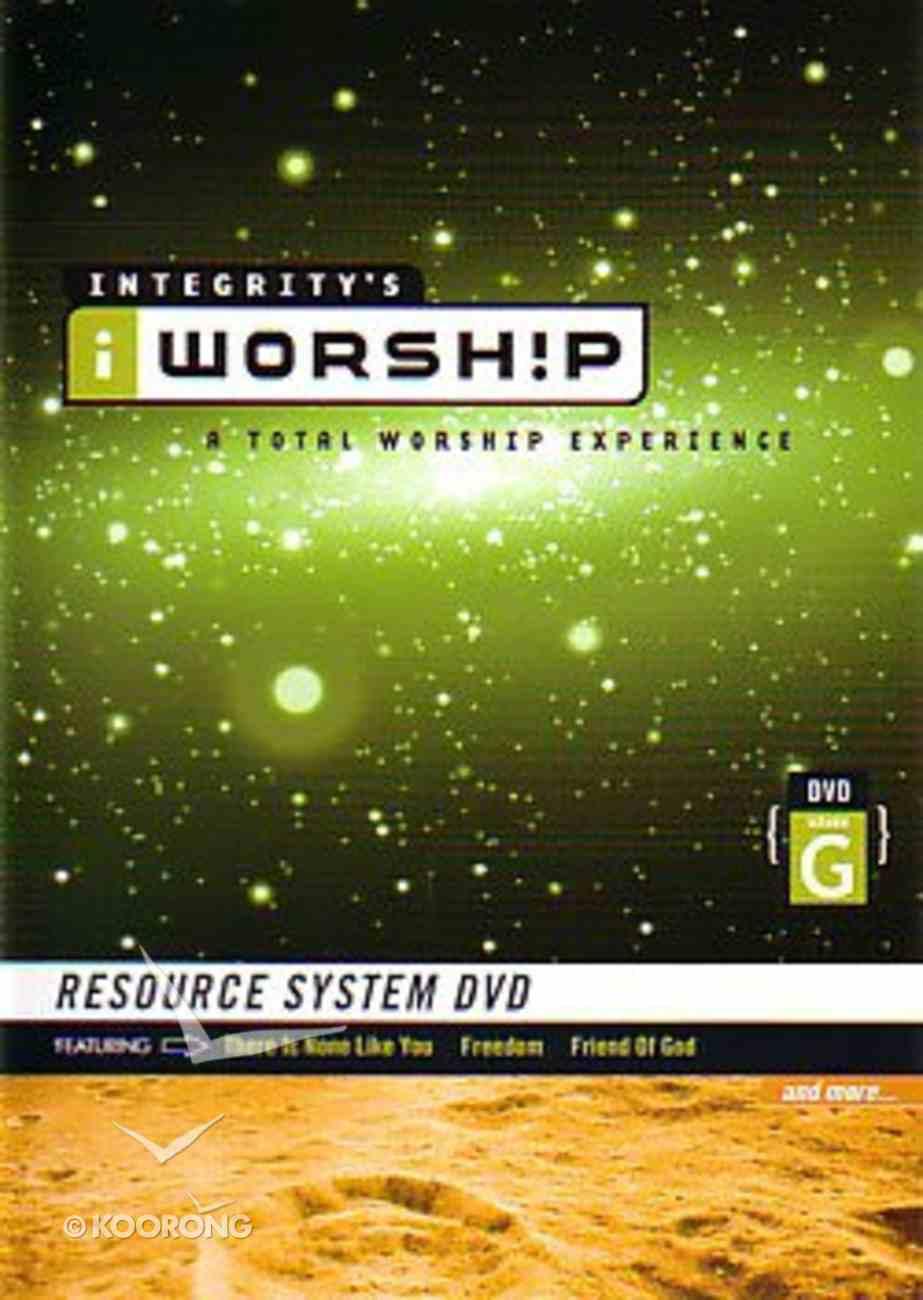 Iworship Volume G DVD