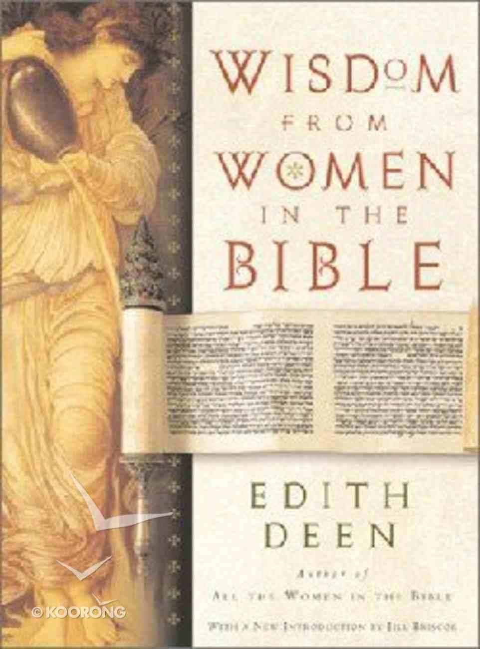 Wisdom From Women in the Bible Hardback