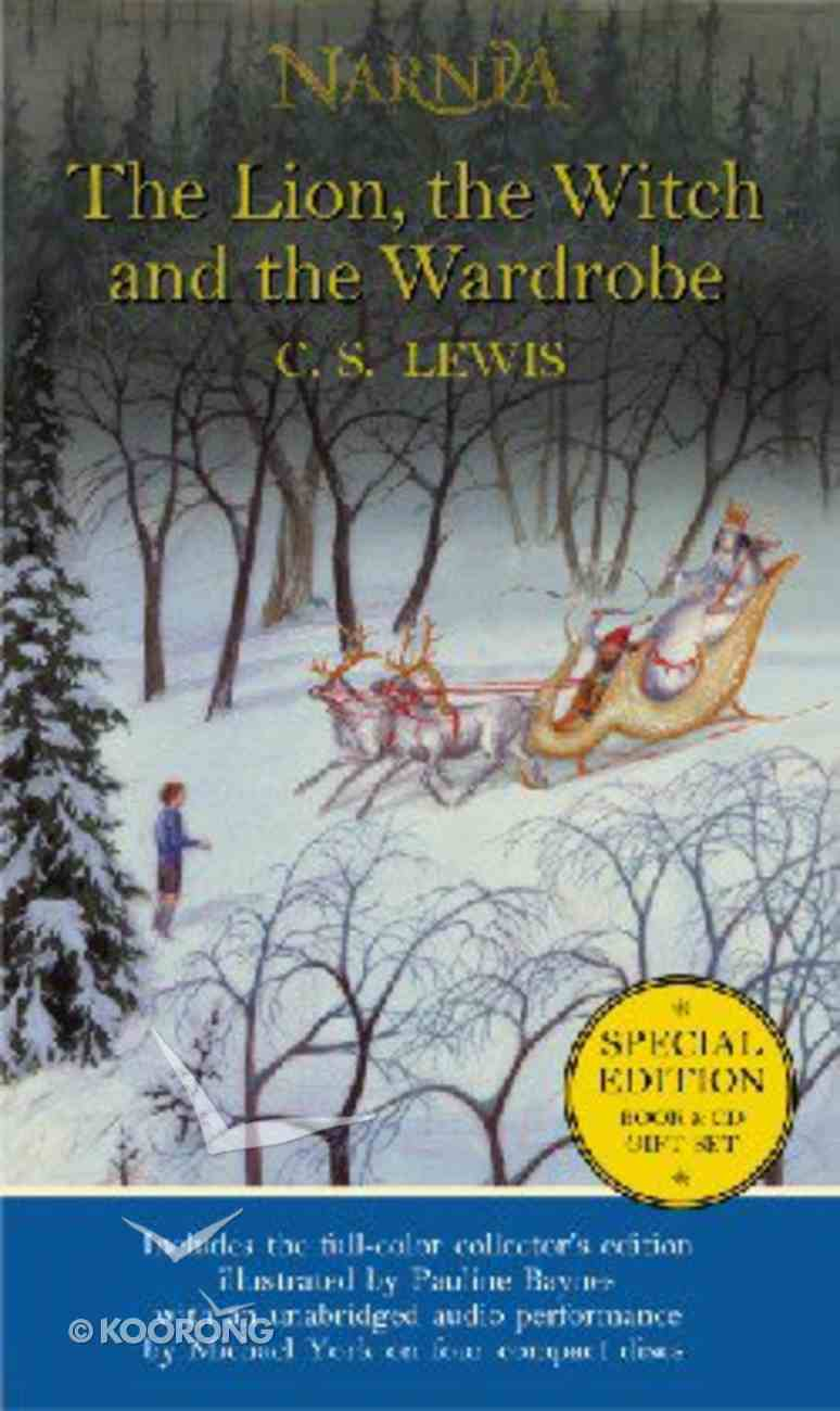 Narnia #02: Lion, the Witch and the Wardrobe, the (Book & CD) (#02 in Chronicles Of Narnia Series) Paperback