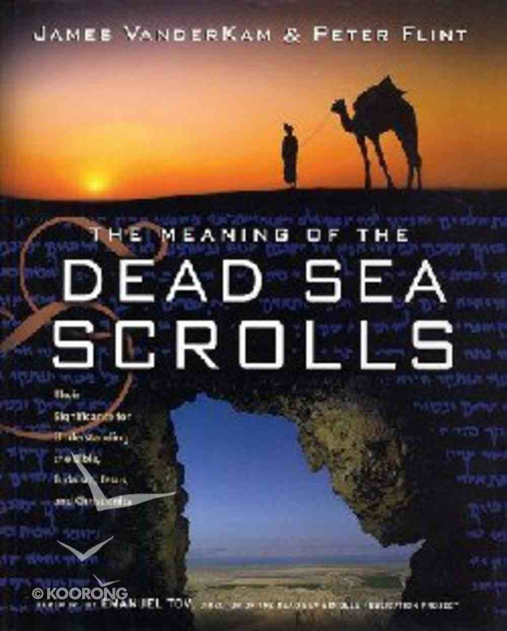 The Meaning of the Dead Sea Scrolls Hardback