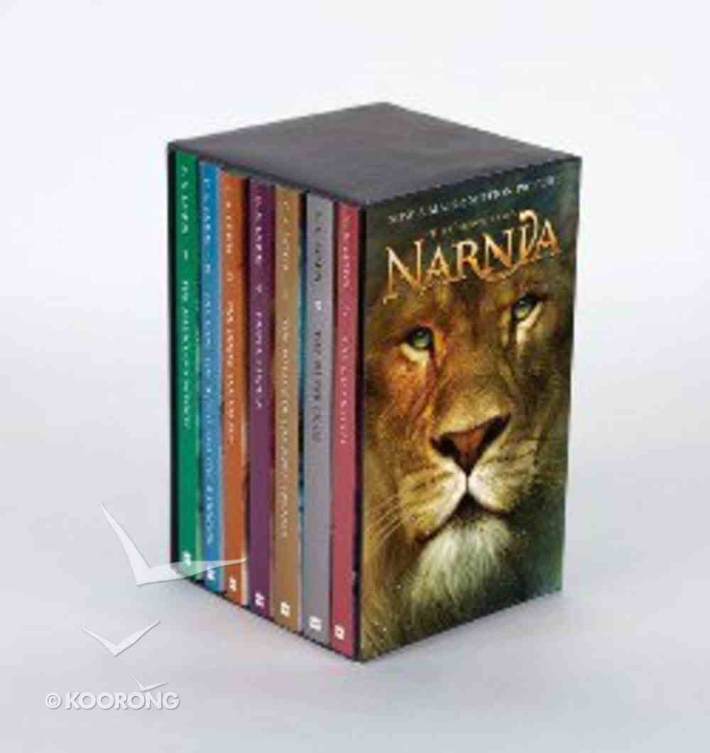 Chronicles of Narnia, the Movie Rack Edition (Boxed Set) (Chronicles Of Narnia Series) Mass Market