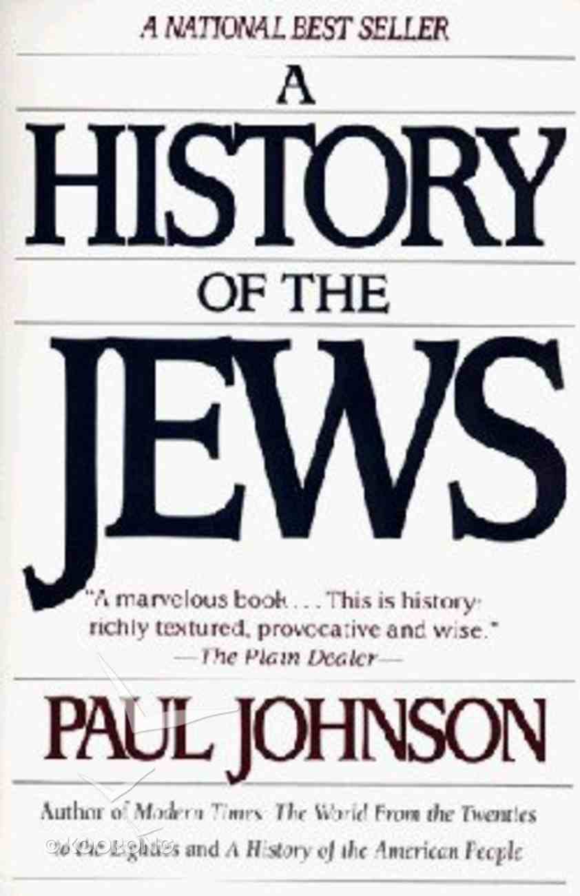 A History of the Jews Paperback