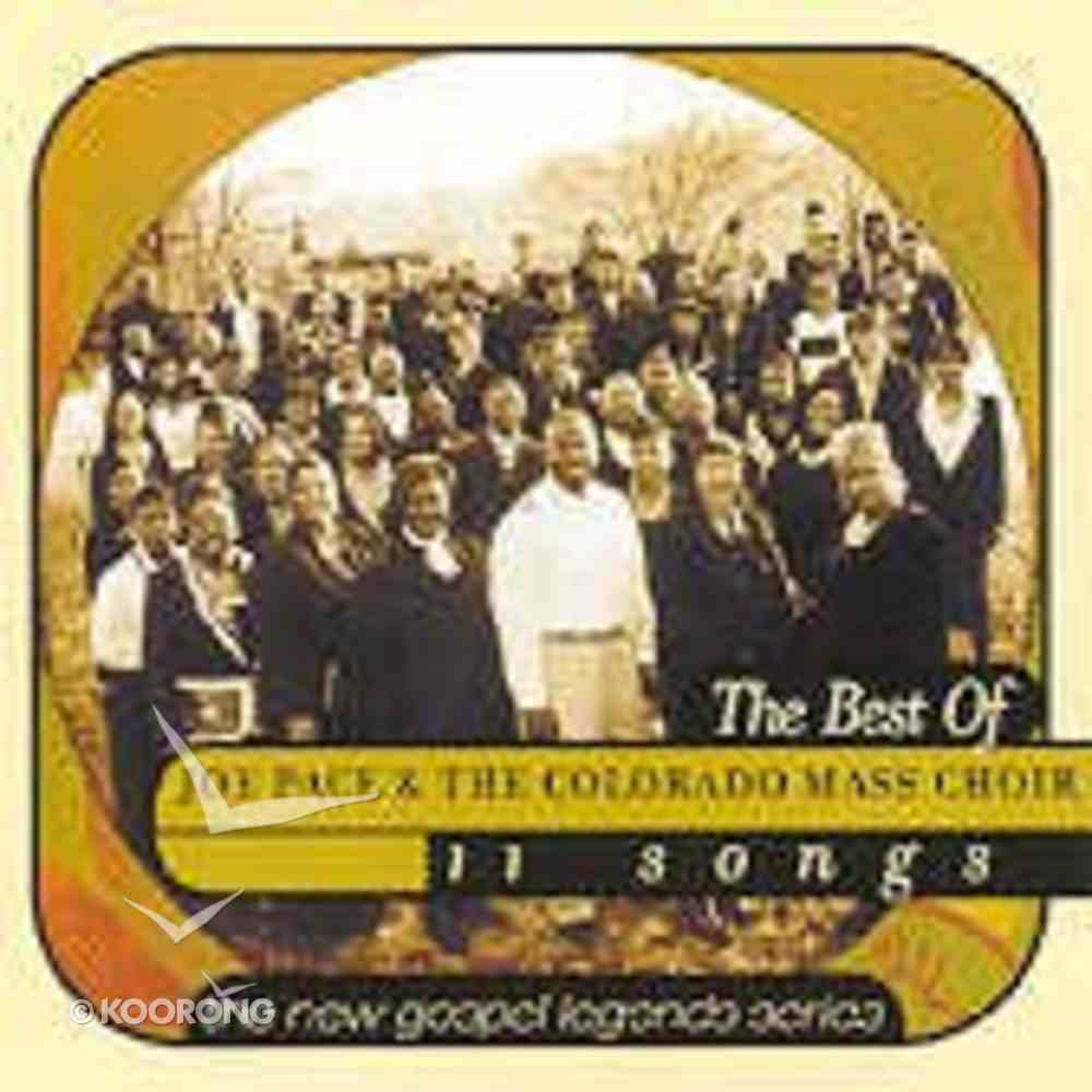 New Gospel Legends: Joe Pace & the Colorado Mass Choir CD