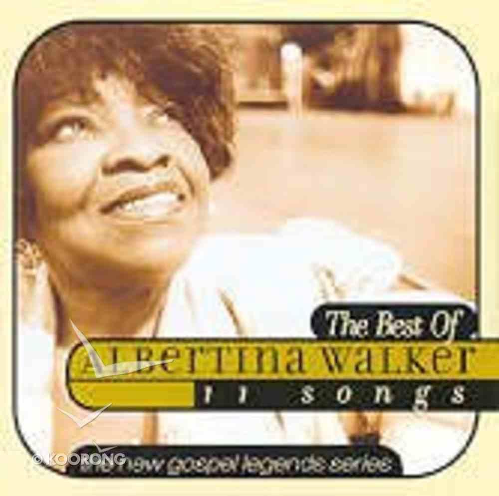 New Gospel Legends: Best of Albertina Walker CD