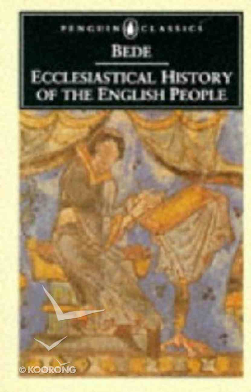 Ecclesiastical History of the English People (Penguin Black Classics Series) Paperback