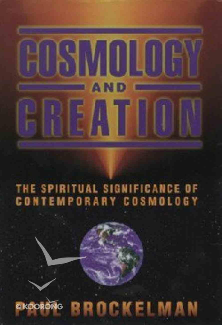 Cosmology and Creation Hardback