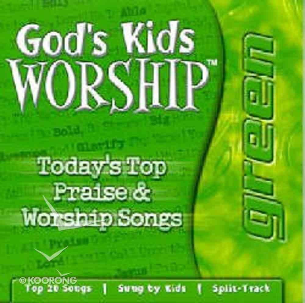 Green (God's Kids Worship Series) CD