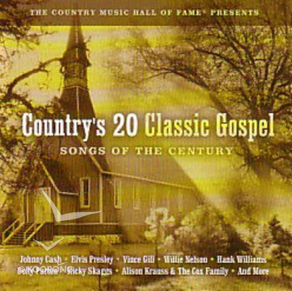 Country's 20 Classic Gospel Songs of the Century (Double Cd) CD