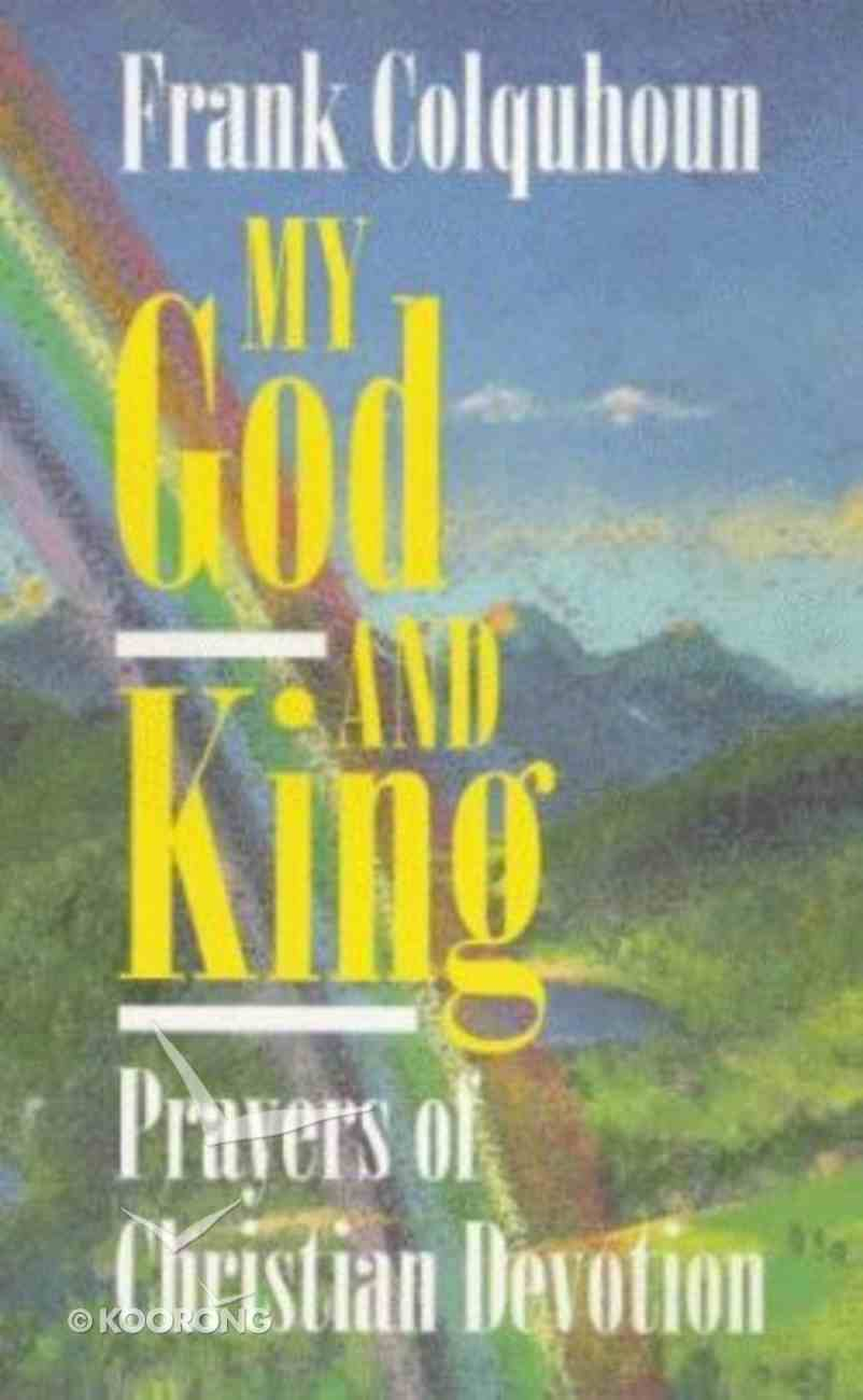 My God and King Paperback