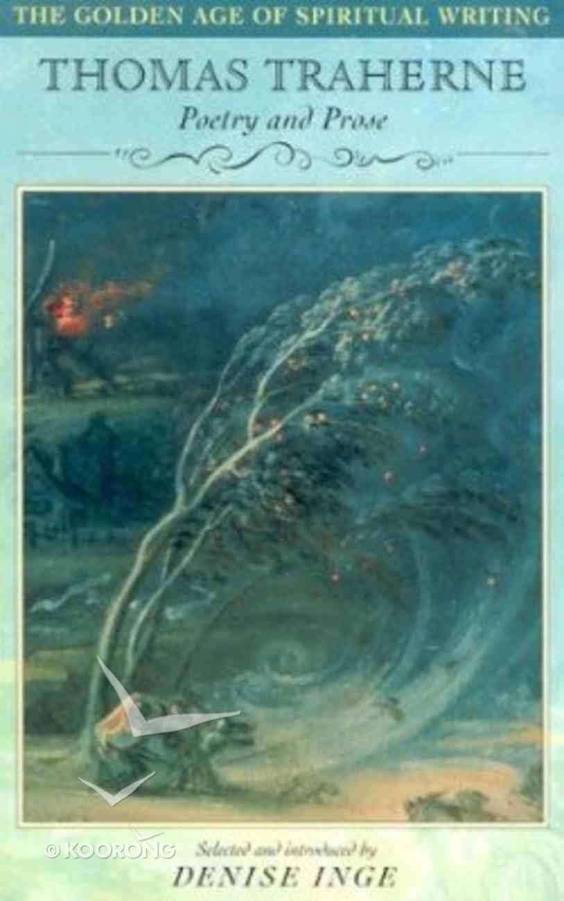 Thomas Traherne Paperback