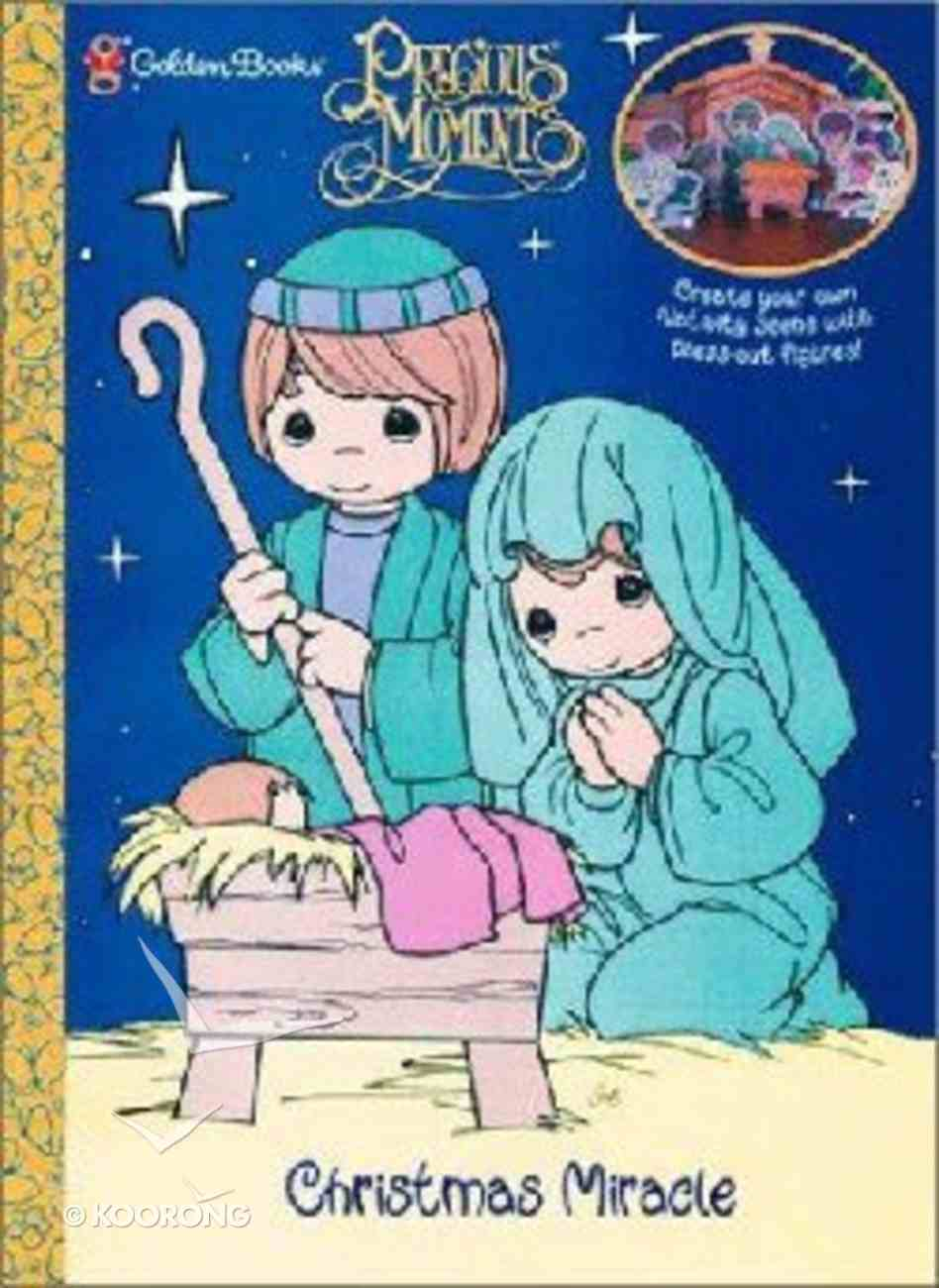 Christmas Miracle (Precious Moments) (Golden Books Series) Paperback