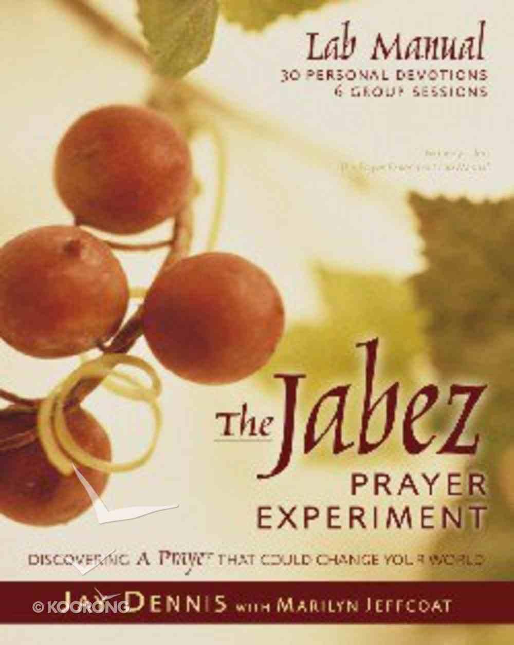 The Jabez Prayer Lab Manual Paperback
