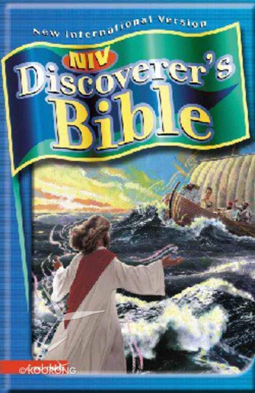NIV Discoverer's Bible Navy Imitation Leather