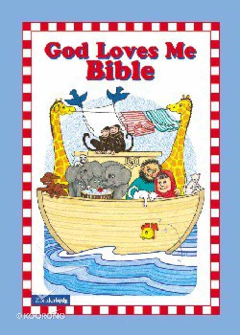 God Loves Me Bible (Blue) Hardback