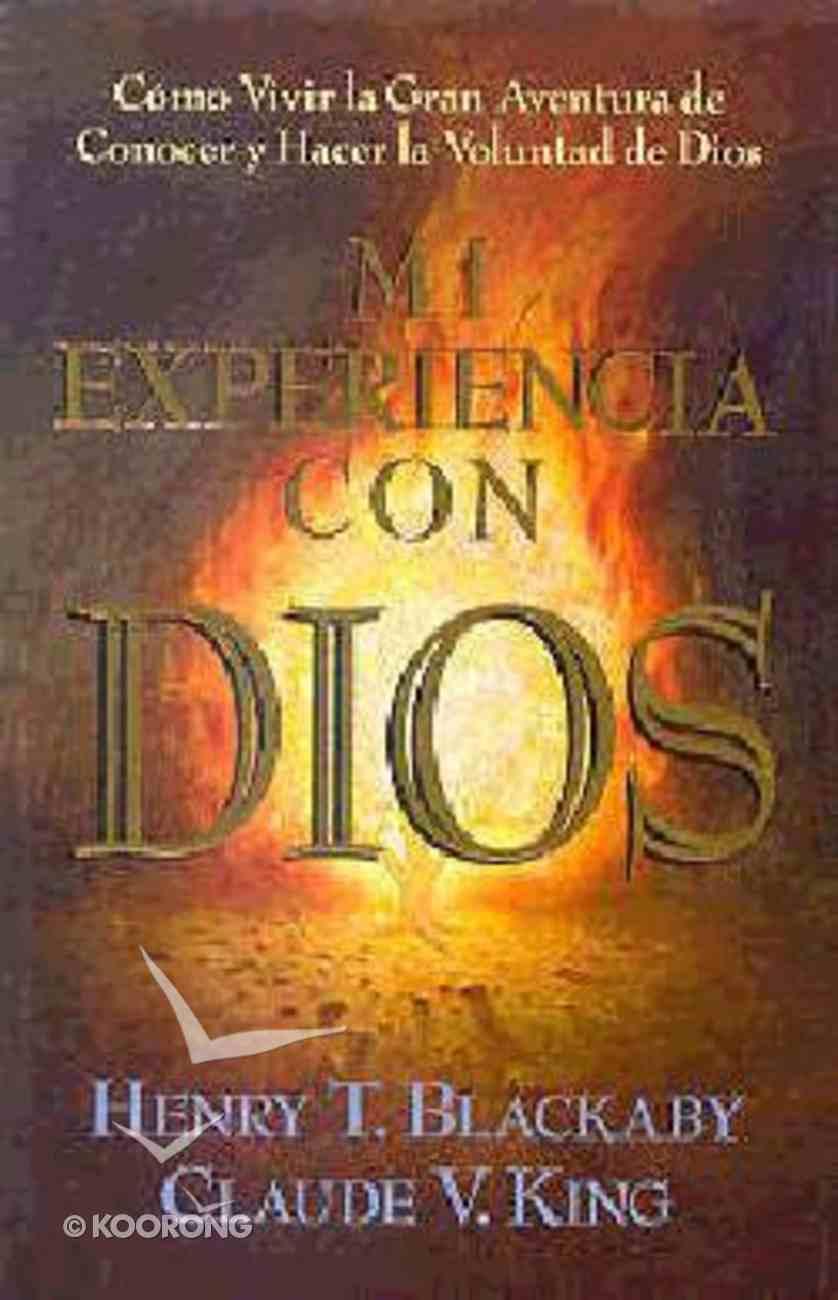 Mi Experiencia Con Dios (Experiencing God) Paperback