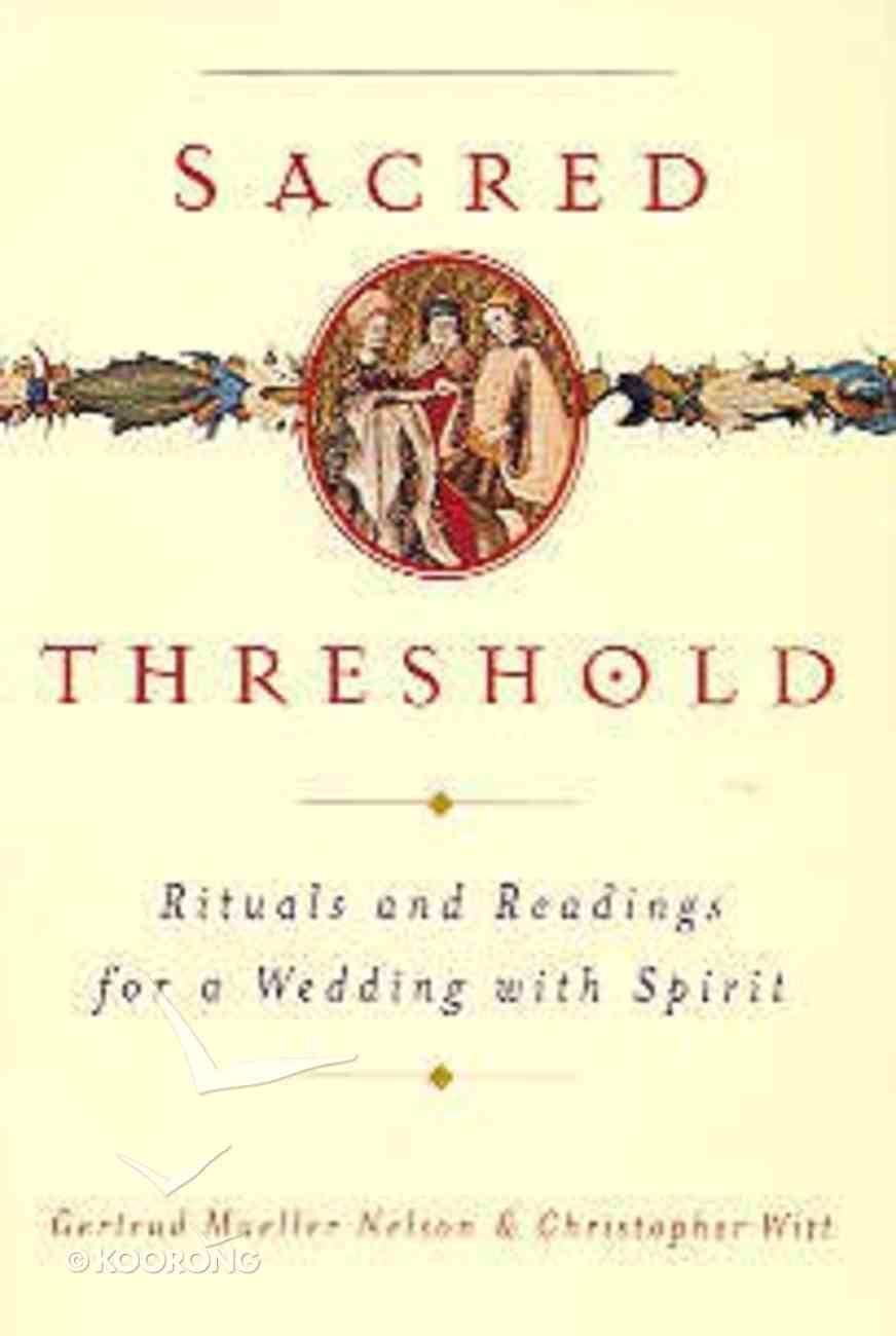 Sacred Threshold Paperback