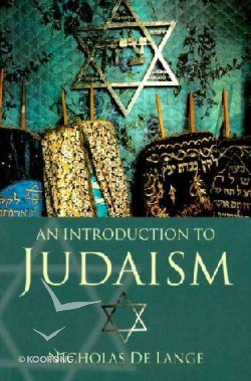 Introduction to Judaism Paperback