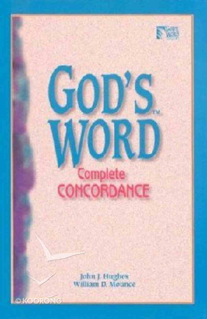 God's Word Complete Concordance Hardback