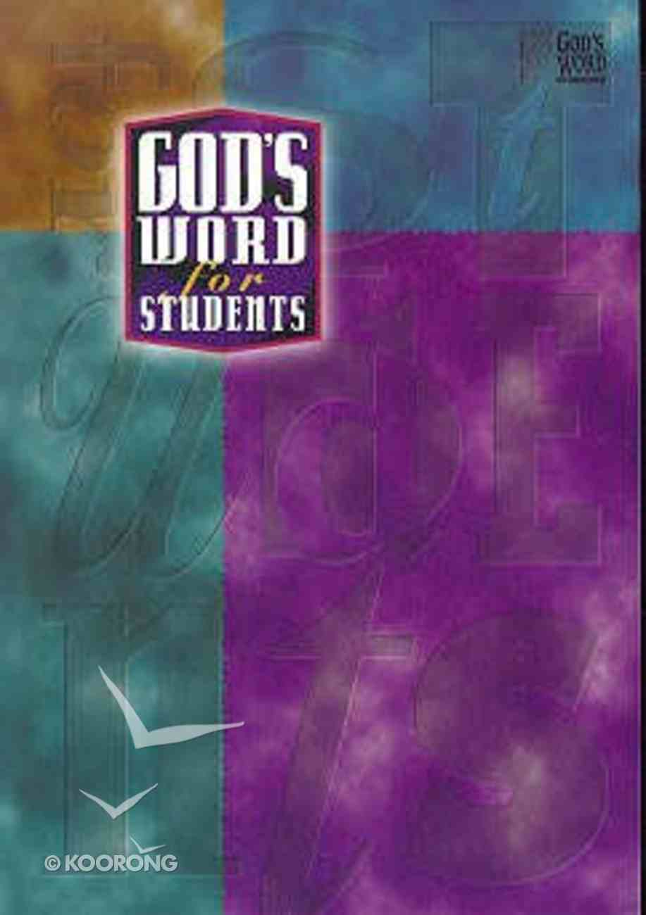 God's Word For Students Paperback