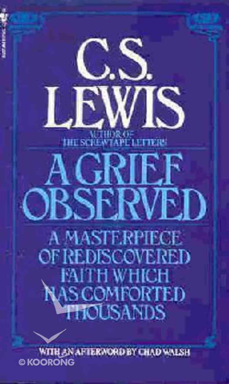 A Grief Observed Paperback
