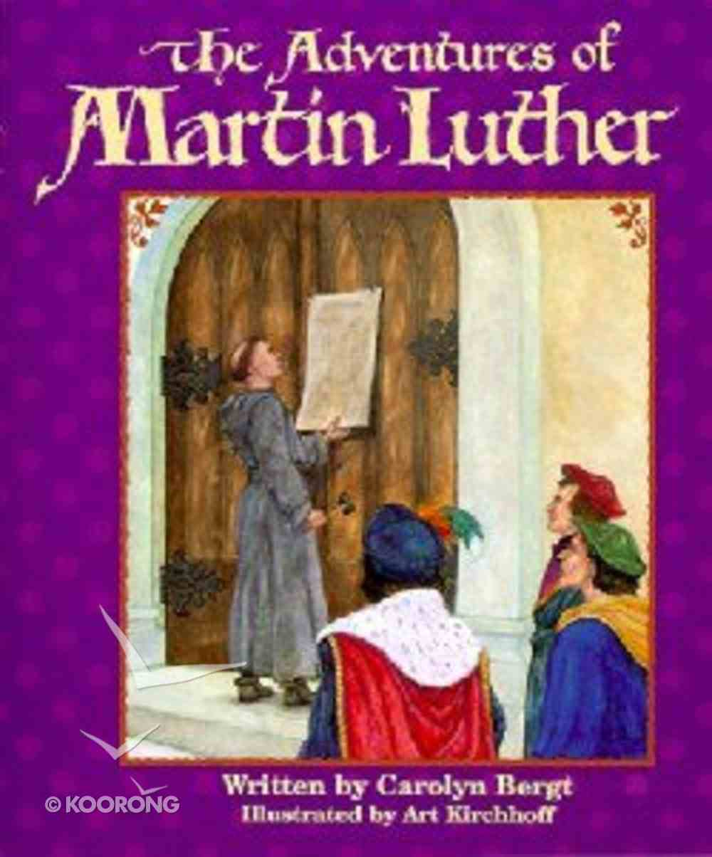 The Adventures of Martin Luther (Big Books Series) Paperback