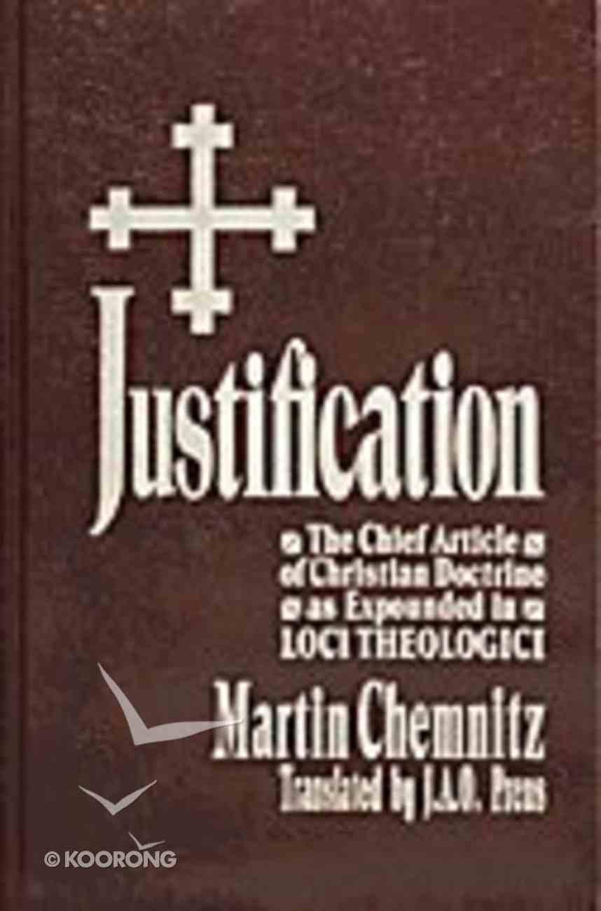 Justification Hardback