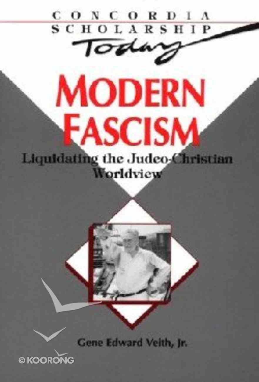 Modern Fascism Paperback